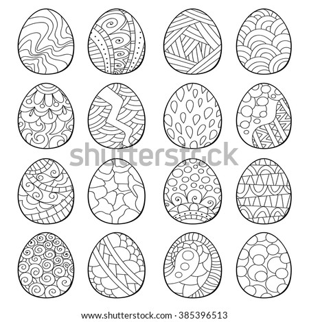 Polish Easter Eggs Coloring Pages Coloring Pages