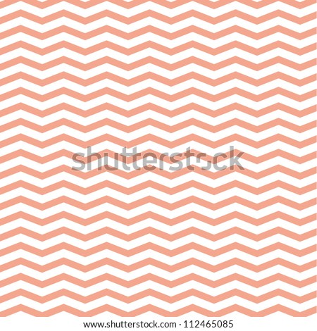Pattern in zigzag - stock vector