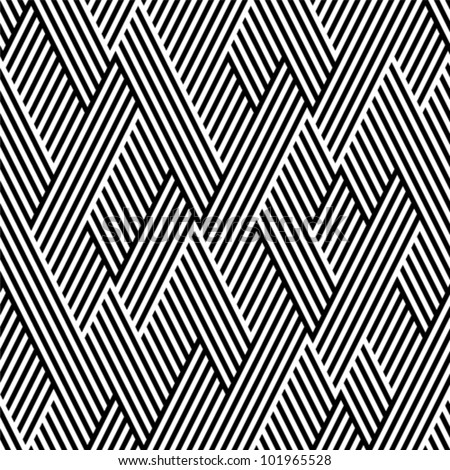 stock-vector-pattern-in-zigzag-with-line-black-and-white