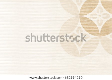 Pattern Japanese paper New Year card background