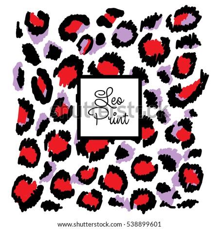 pattern leopard trendy print