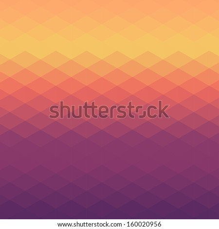 Pattern of geometric shapes. Colorful mosaic banner. Geometric background. Vector illustration.