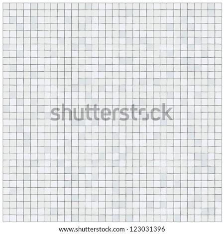 Pattern of irregular little tiles