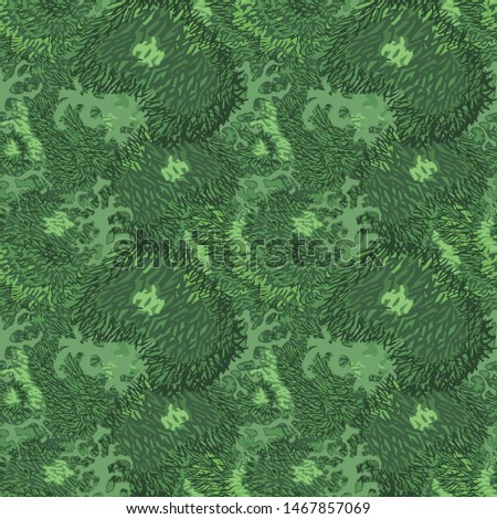 pattern of moss and grass