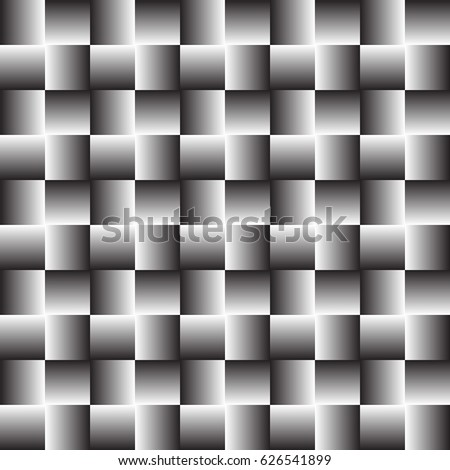 pattern of squares illusion of