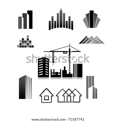 pattern of the sign - construction, property, real estate, building