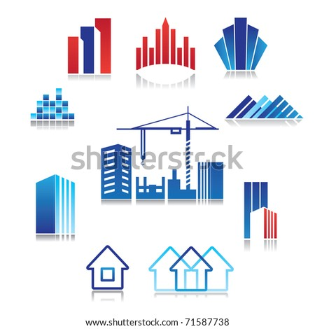 pattern of the sign - construction, real estate, building