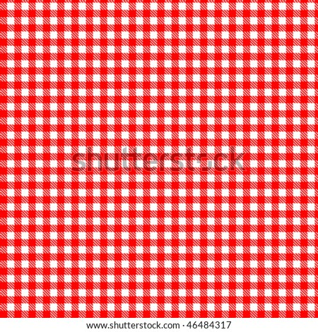 Pattern red picnic