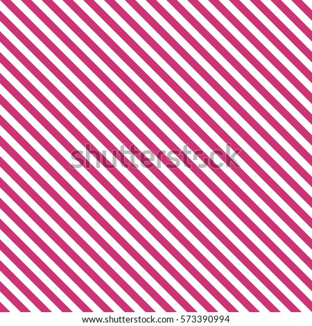 Pattern stripe seamless pink yarrow and white colors. Diagonal pattern stripe abstract background vector.