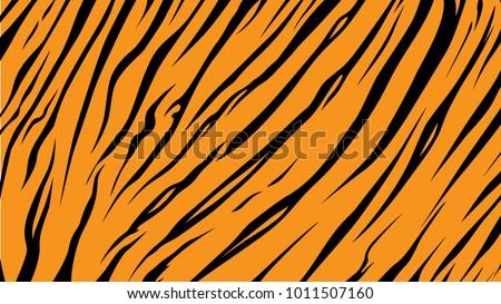 pattern texture tiger orange