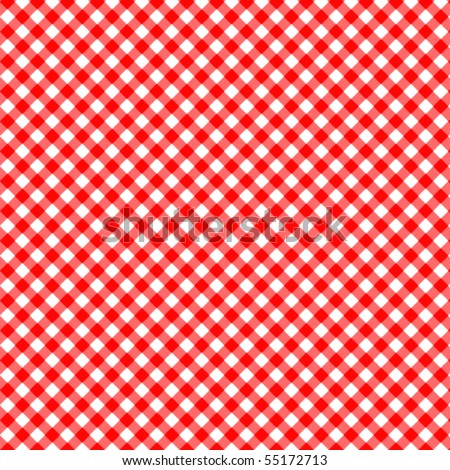 Pattern vector picnic red