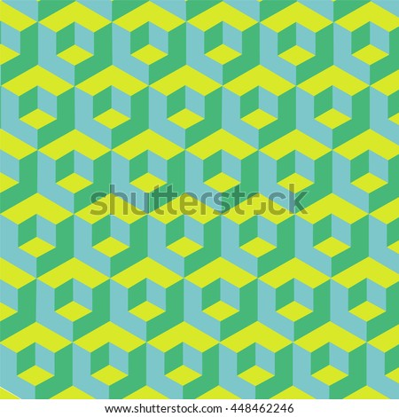 pattern volumetric cubes. backgrounds for text