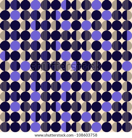 Pattern with circle texture