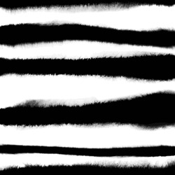 Pattern with creative texture. Vector background of paint strokes. Black and white.