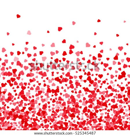 Pattern with hearts. Valentines Day background.