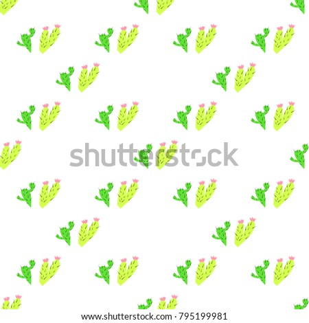 pattern with the image of two