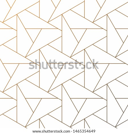 Pattern with thin lines repeating with poligons and geometric shapes and stylish fractal texture. Pattern is on swatches panel