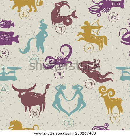 pattern zodiac signs