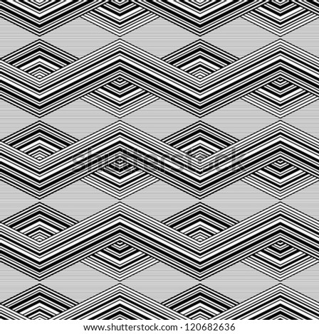 Patterns line black and white