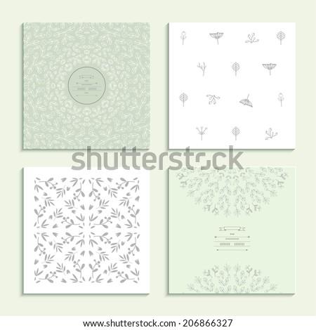 patterns with vegetative