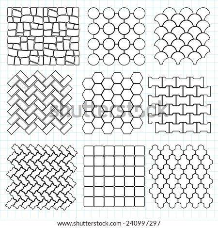 Paving stone landscape design elements make your own for Paving planner