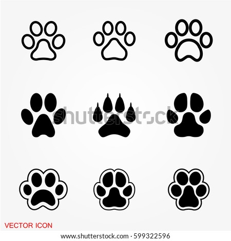 Paw icons