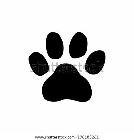 paw print vector