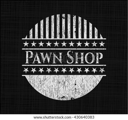 Pawn Shop chalk emblem