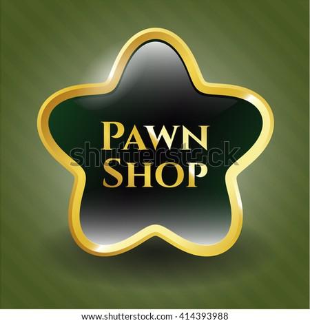 Pawn Shop golden emblem