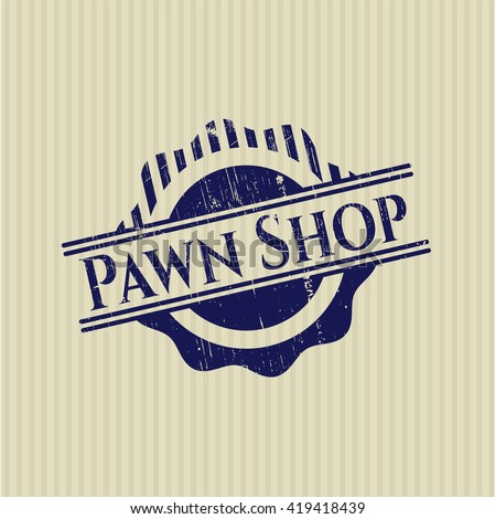 Pawn Shop grunge seal
