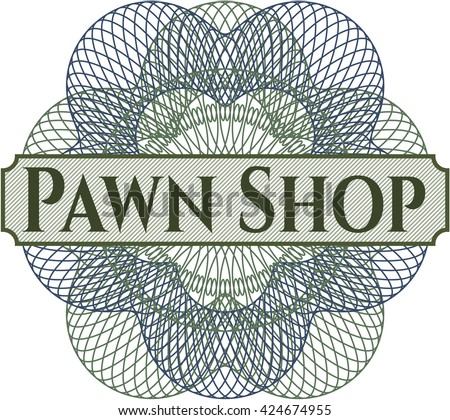 Pawn Shop money style rosette