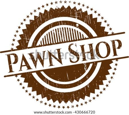 Pawn Shop rubber grunge seal
