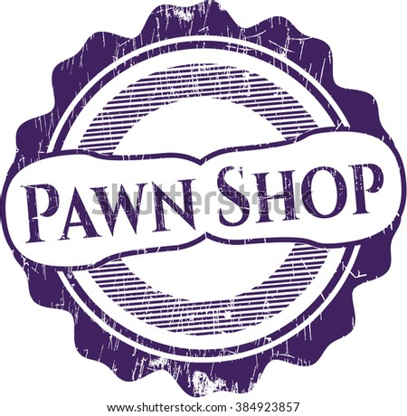 Pawn Shop rubber stamp