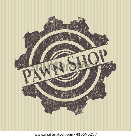 Pawn Shop rubber texture