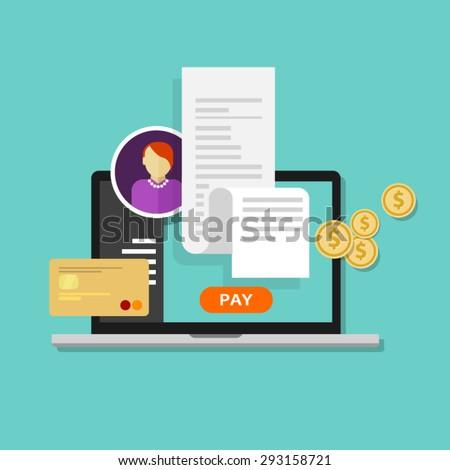 pay bills tax online receipt