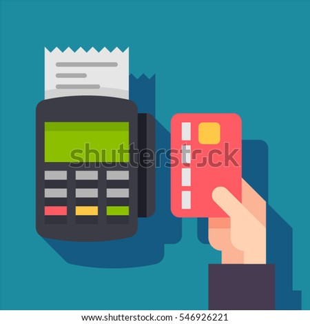 payment terminal pos machine