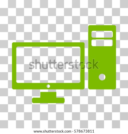 pc icon vector illustration