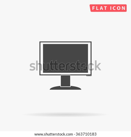 pc monitor icon vector