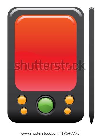 PDA Computer Icon