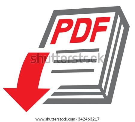pdf file download icon