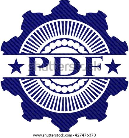 PDF jean background