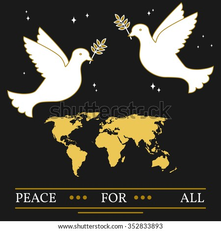 peace for all greeting card
