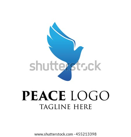 Peace Logo Template World Peace Symbol Ez Canvas