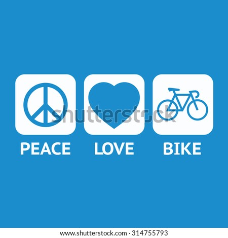 peace  love  bicycle  peace day