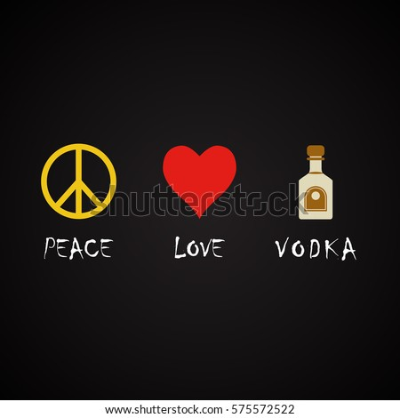 Download I Love Vodka Wallpaper 240x320 Wallpoper #84129