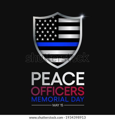 peace officers memorial day is