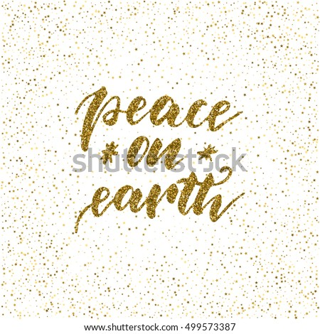 peace on earth   ink freehand