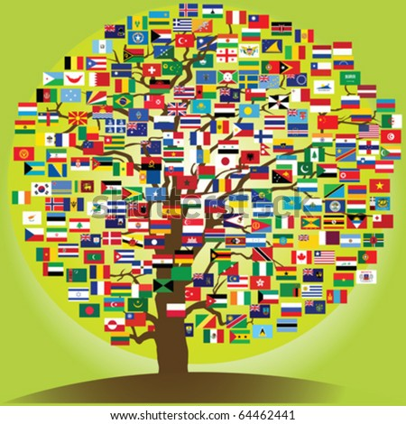 peace tree symbol of the friendship between nations