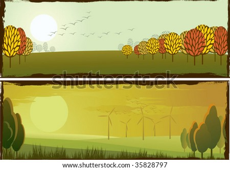peaceful autumn landscapes