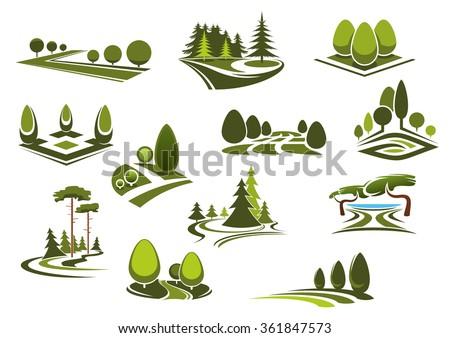 peaceful nature landscapes
